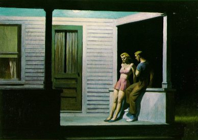 summer-evening Hopper