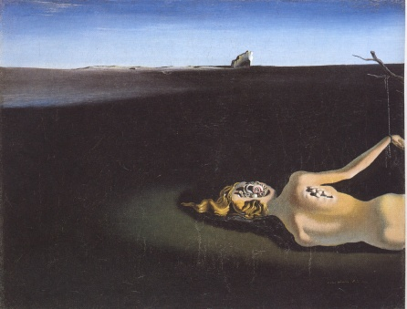 woman-sleeping-in-a-landscape dalí
